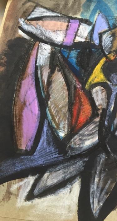 Edward E Boccia Detail of Orison La Golem Orison 11-61 Cropped1
